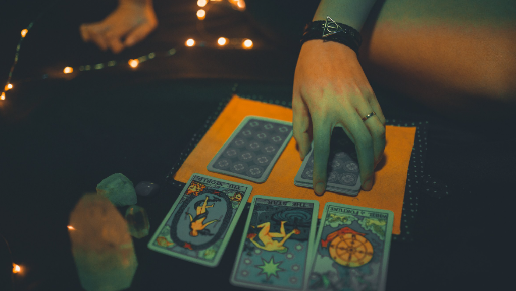 Which Tarot card means luck?